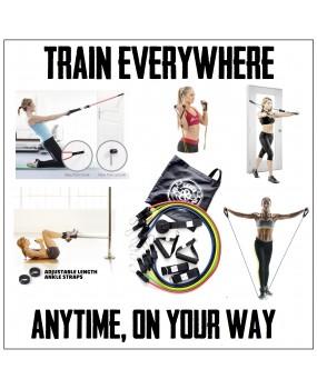 Bandes élastiques Full Body Training 5 Résistances - Kit complet