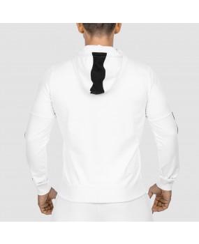 Veste à capuche Blanche Workout Empire