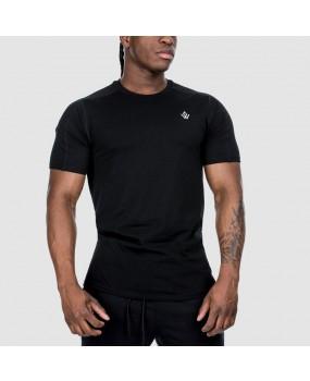 T-Shirt Noir Essentiel Workout Empire